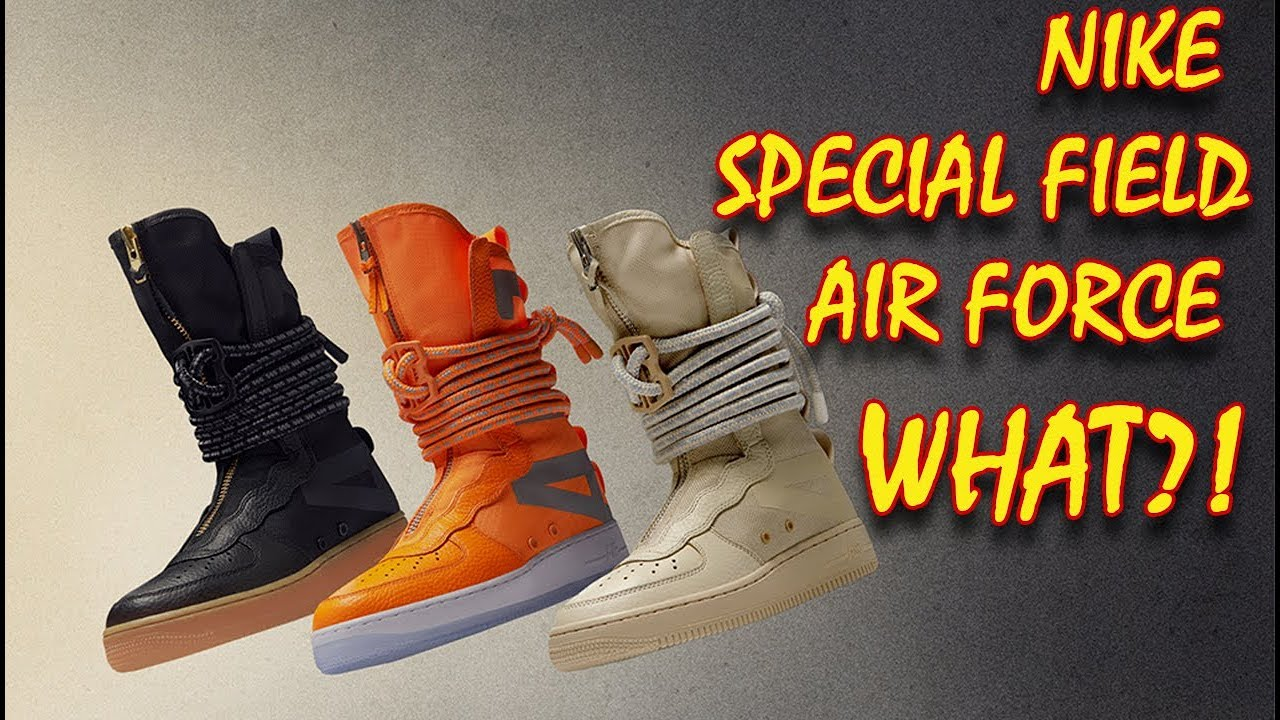 nike sf air force 1 hi boot