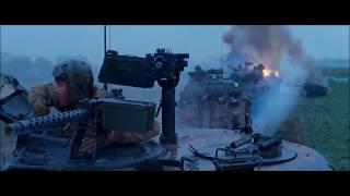 FURY | Movie Clip Tiger Ambush Battle Scene HD