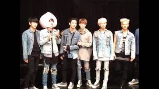 161006 M! COUNTDOWN Facebook Live - Dance Dance Together with GOT7