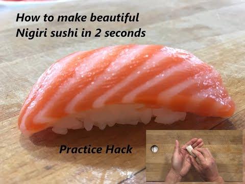 Вопрос: Как приготовить суши Нигири?
