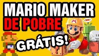 MARIO MAKER DE GRAÇA! - Mari0 - Gameplay Comentado em Português PT-BR