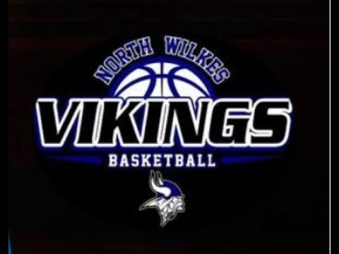 North Wilkes High School Varsity Basketball - Lady Vikings - First Round State Playoffs 2-27-2018