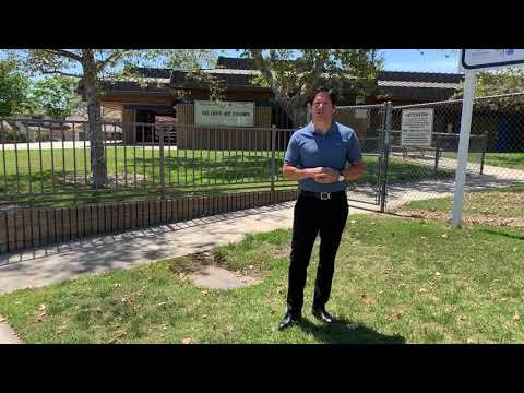 School Tour of Victoria Groves Elementary, Rancho Cucamonga, California