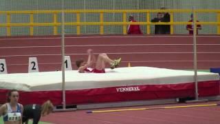 Mateusz Przybylko Hochsprung 2,13m 3 Versuch Westdeutsche Hallenmeisterschaften 2010