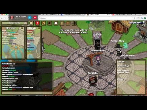 Town Of Salem Rainbow Gameplay Caught Red Handed lol