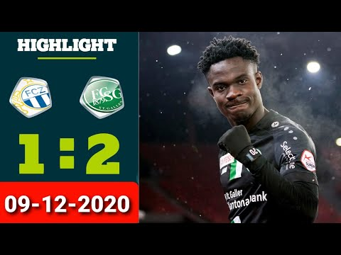 Zurich St. Gallen Goals And Highlights