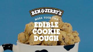 Edible Cookie Dough Recipe   Ben & Jerry's