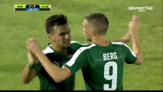 Panathinaikos F.C. vs Club Brugge KV 2-1 All Goals and Highlights (CL) {28/7/2015}