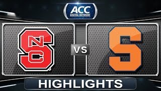 NC State vs Syracuse | 2014 ACC Men