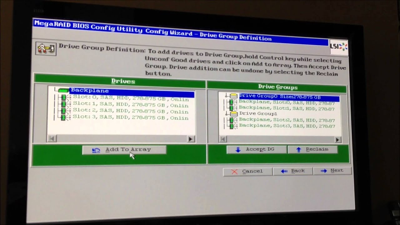 how to remove raid configuration from hard drive