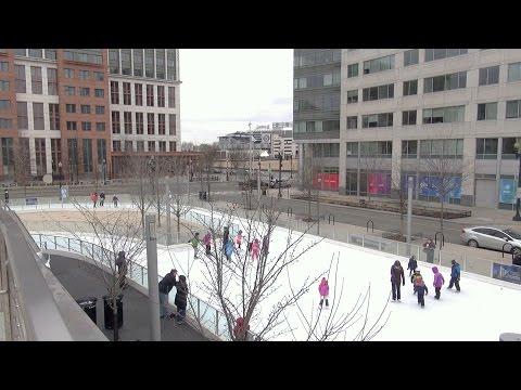 Ice Skating, Washington DC, Canal Park  - REAL USA Ep. 138