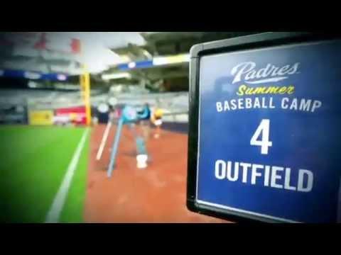 San Diego Padres Summer Baseball Camp