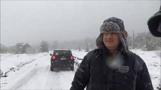 Roteiro 4x4 entrevista na neve no Chile