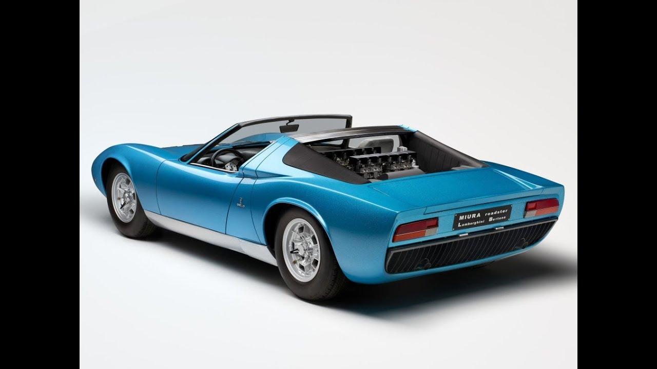 Lamborghini Miura Roadster 1968 Concept Car Youtube