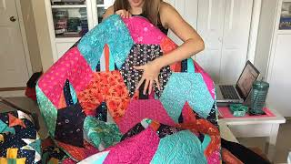 How to Quilt Flying Geese