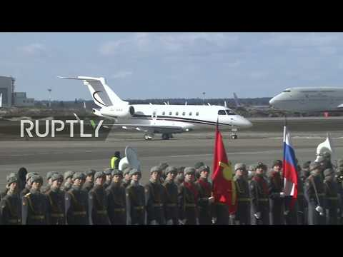 LIVE: Lebanon's Aoun lands in Moscow ahead of meeting with Putin