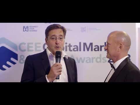 Jeff Kelisky, CEO of UK-based Seedrs, at CEE Capital Markets & FinTech Awards 2018