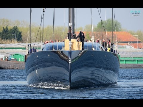 Taming the Beast: Royal Huisman's 58m/ 190ft sloop Ngoni first sailing