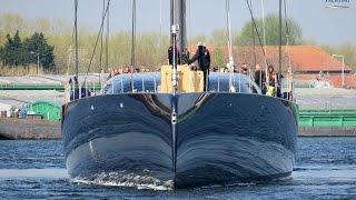 Taming the Beast: Royal Huisman's 58m/ 190ft sloop Ngoni first sailing