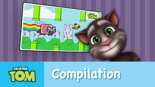 Talking Tom Best of Compilation-Internet Cat Spoofs!