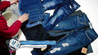 Rakitex - Pantalon hommes en jeans ; Men's jeans pants (Qualité crème été- Cream summer quality)