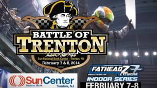 "Indoor Auto Racing ""The Battle of Trenton"""