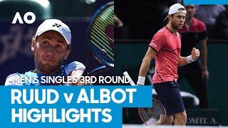 Casper Ruud vs Radu Albot Match Highlights (3R)