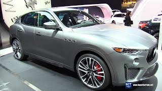 2019 Maserati Levante Trofeo - Exterior and Interior Walkaround - 2018 New York Auto Show