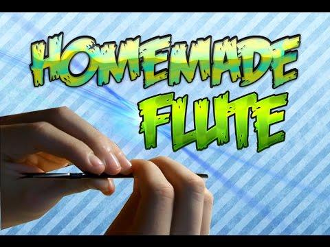 How to make a homemade flute