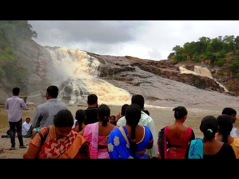 Nature Wonder!! Kuntala Waterfall, Adilabad, Telangana, India | HD Video