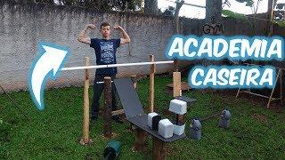 CONSTRUÍMOS UMA ACADEMIA EM CASA! | Marcelinho Barros
