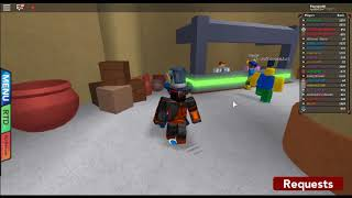Dancing in pbb on HB (PBB Roblox)