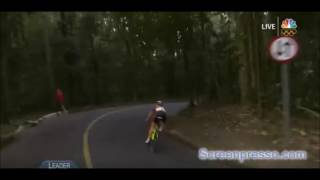 Olympic Cyclist Wicked Crash Rio