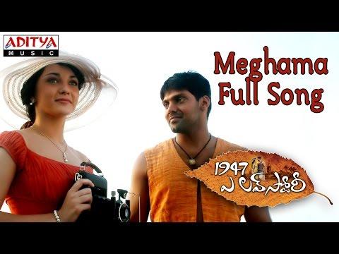 Meghama Full Song  1947 A Love Story Movie  Aarya, Amy Jackson