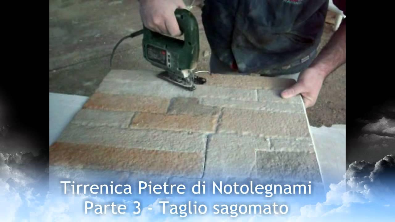 Pannelli di pietra parte 3 taglio sagomato youtube for Pannelli finta pietra ikea