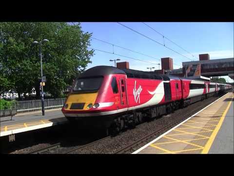 Trains at Stevenage 08/07/17