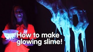 How to make glowing slime | Do Try This At Home | We The Curious