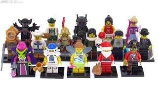 LEGO Series 8 Collectible Minifigs from 2012 reviewed!