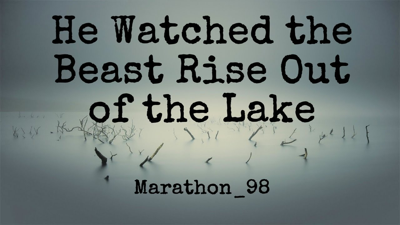 Bigfoot Rose Out of the Water.  Marathon 98