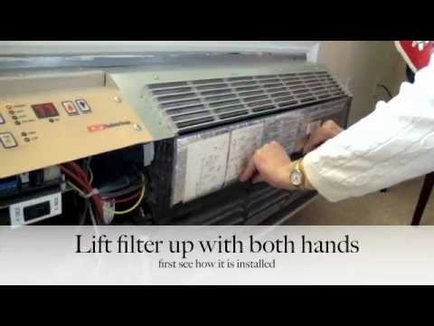 air conditioner heater filter clean suburban youtube. Black Bedroom Furniture Sets. Home Design Ideas