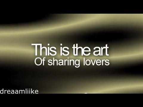 A Static Lullaby - The art of sharing lovers (lyrics)