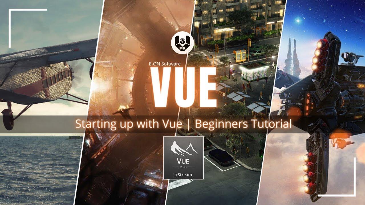 E-on Software VUE | Beginners Level Tutorial