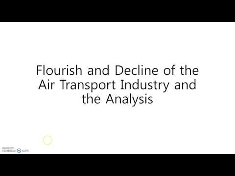 Charts Analysis of Air Transport Industry