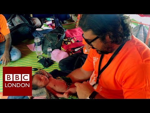 London aid workers helping refugees – BBC London News