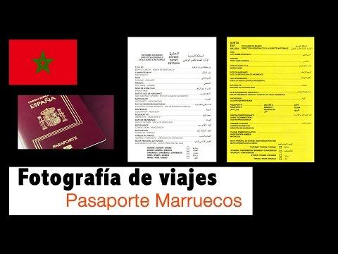 Pasaporte Marruecos documentos entrada salida | Jesus Botaro