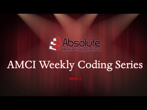 AMCI Weekly Coding Series#2   Integumentary Section  featuring  Mohs with Ms. Tosha