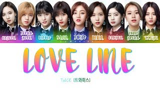 Download TWICE (트와이스) - LOVE LINE [Color Coded Lyrics/Han/Rom/Eng] Mp3