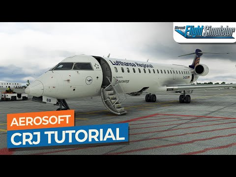 [MSFS] Aerosoft Bombardier CRJ-550/700 Startup Tutorial Drawyah