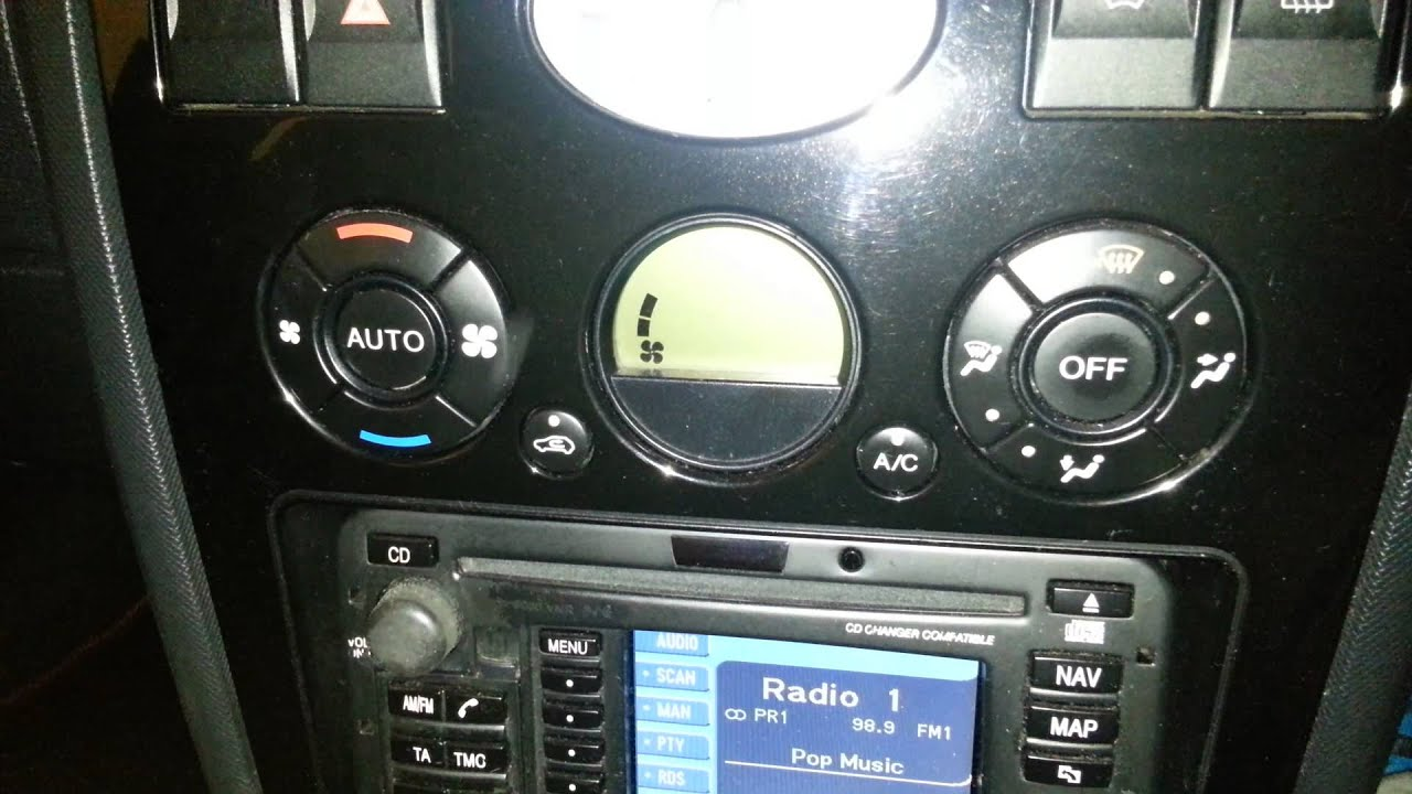 Ford Mondeo Mk3 pre facelift climate control reset