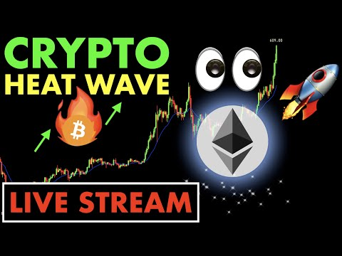 #CRYPTO MARKET🔥 ON FIRE 🔴  LIVE STREAM #Bitcoin #Ethereum #Chainlink